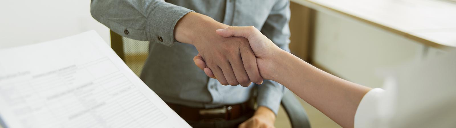 servicio y gestión de confianza